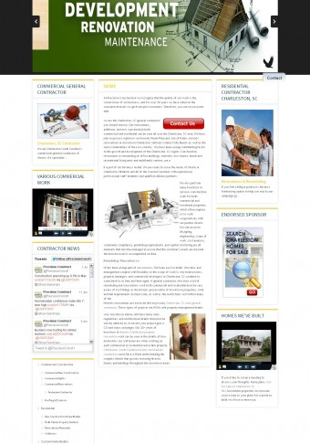 Construction Contractor websites